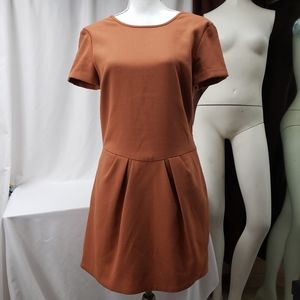 Paul & Joe Brown Retro Style Dress
